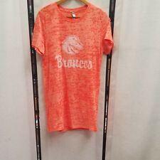 Boise State University Broncos Womens Tee Shirt Bright Orange XXL