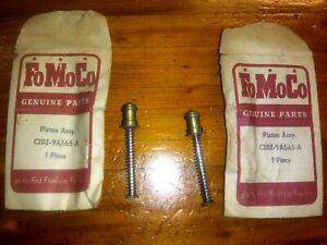 -Two NOS 1962 Ford Piston Assembly Packs C2DZ-9A565-A Maybe Falcon Carburetor