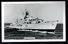 Mint Picture Postcard Canada Navy HMCS Athabascan Destroyer at Sea