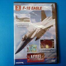 DVD Aerei da Combattimento DeAgostini F-15 Eagle N° 2 Nuovo Blisterato