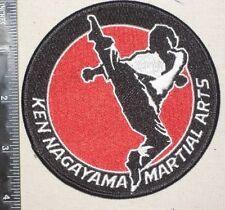 Ken Nagayama Martial Arts Patch