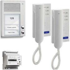 TCS Sprechanlage Türsprechanlage homepack 2 Wohneinheiten 2-Draht PSC2120-0000