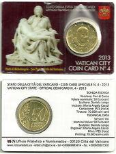 COIN CARD VATICANO 50 CÉNTIMOS 2013