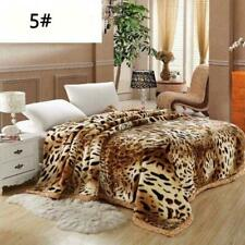 Luxury Heavy 2ply Winter Soft Warm Bed Blanket King Double Flannel Blanket sz