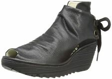 Fly London Women's 100% Leather Ankle Boots Wedge Shoes