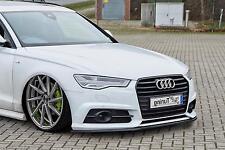 Frontspoiler Lippe Schwert Cup Spoiler ABS für Audi A6 + S6 4G C7 ab Bj. 2014-