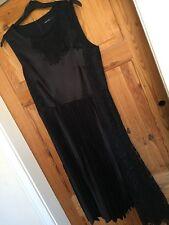 Karen Millen Black Dress Size 12