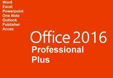 Microsoft Office 2016 Prof.Plus Vollversion für 1 PC + Gratis-Installations-DVD