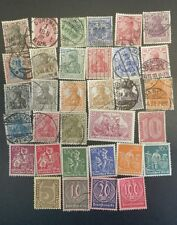 1872-1921 GERMANY -DEUTCHES REICH  STAMP COLLECTION.  USED & UNUSED