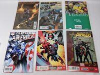 Avengers Iron Man Captain America Hulk Comic Book Lot of 8