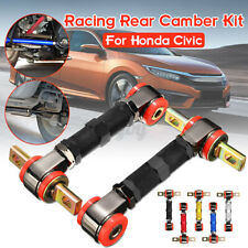 +/- 3º Adjustable Racing Rear Suspension Camber Control Arms Kit Fit Hond