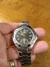 Vintage Lee Dungarees Date Men's watch, rotating bezel running with new batteryM