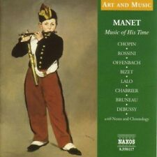 Manet Music of His Time (cd Book) 0636943811726 CD