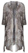 Sharanel sheer knit short sleeve cardigan jacket
