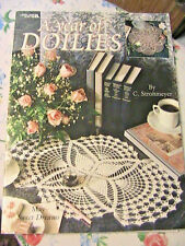 A YEAR OF DOILIES~C. Strohmeyer~Leisure Arts 2120~1991 lovely crochet patterns
