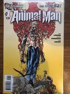 Animal Man, The New 52, Jeff Lemire, DC Comics