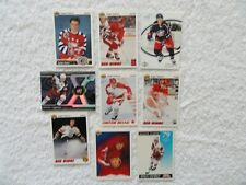 Sergei Fedorov 9 Card Lot All Different Detroit Red Wings Columbus Blue Jackets
