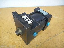 "Parker Hannifin CJ2A19 Air Cylinder 3.25"" Bore 1"" Stroke Used"