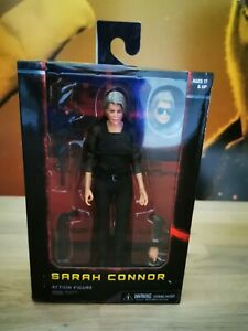 "NECA SARAH CONNOR DARK FATE TERMINATOR 7"" ACTION FIGURE NEW. FREE UK POSTAGE."