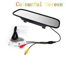 "4.3"" LCD TFT Monitor PAL/NTSC For Vehicle Rearview Mirror Reverse Parking Camera"