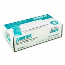 Ambitex Powdered Latex Gloves - Box of 100