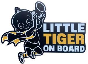 Richmond Tigers, Sticker, Sports, Football, Baby On Board