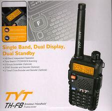 TYT TH-F8 VHF 5W Dual Standby Dual Display FM Radio 2 tone/5 tone Ver Scrambler