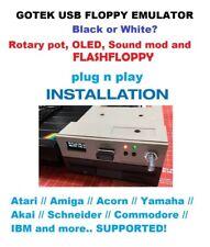 GOTEK FLASH FLOPPY OLed DISPLAY Rotary Encoder - Atari // Amiga // Acorn // CPC/