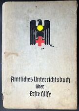 Original WW2 German Red Cross Medical Manual 1942.