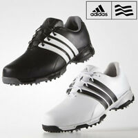 Adidas Mens Pure Traxion 360 Golf Shoes Waterproof Leather Golf Shoes