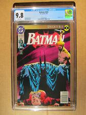 DC Comics – Batman #493 CGC 9.8 – Knightfall Part 3