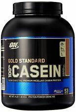 Optimum Nutrition ON Gold Standard 100% CASEIN Protein Powder 4LB 53SRV Exp.5/20