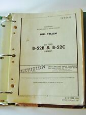B-52B & B-52C AIRPLANE BOMBER - Book 1957 -- 300 Pages -- A RARE FIND! B-52