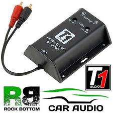 T1-620 auto estéreo Radio Rca Amplificador Ground Loop aislador y supresión de ruido filtro