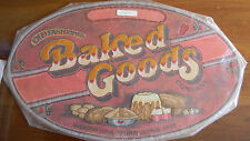 Completed Colorart Crewel Plaque BAKED GOODS by Rodger Johnson JCA 19x12 NEW