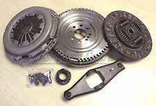 FOR FORD TRANSIT 2.4 TDCi DUAL TO SOLID MASS FLYWHEEL CLUTCH CONVERSION 5SP 06-