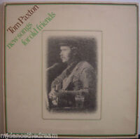 TOM PAXTON ~ New Songs For Old Friends ~ GATEFOLD VINYL LP