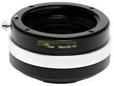 Anello adapter per montare ottiche Nikon G su corpi Fuji X-Pro 1, con ghiera.