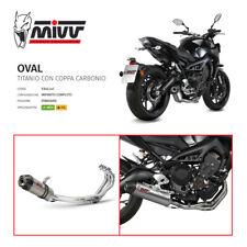 Auspuffanlage Komplett [ MIVV ] Oval Titan – Yamaha MT-09 (2013-2020) –