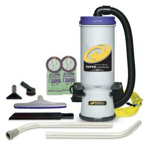 ProTeam Portable Backpack Vacuum Cleaner 120-Volt Plastic Brush Corded Filter