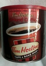 Tim Hortons Horton's FRESH Coffee LARGE Tin Can 32.8 oz (930 GRAM) Cafe Ground