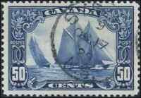 Canada #158 used VF+ 1929 Scroll 50c Bluenose Sydney,NS SON CDS CHOICE!