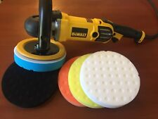 Buffer Polishing Pads ideal for Dewalt DWP849x Car Wax USA Detail Kit 5