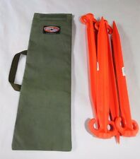Tent Peg Rope Bag 550mm Australian Made with Australian Canvas
