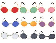 John Lennon Round Sunglasses Ozzy Osbourne Hippy 70's 80's Fancy Dress Glasses