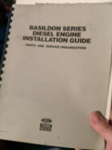 Ford New Holland Basildon Series Diesel Engine Installation Guide
