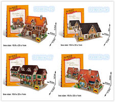 Germany House 3D Puzzles Childs Boys Girls Mold Paper DIY Educational Toys
