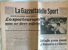 CICLISMO TOUR DE FRANCE 1950 COL D'ASPIN BARTALI MASSAGGIATORE COLOMBO BINDA