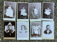 8 Antique Cabinet Photograph Pictures NAPOLEAN OHIO Maynard Lupton Gardner