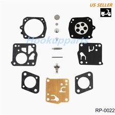Carb Kit for Tillotson Rk-23hs Husqvarna 281XP 181SE-SG 266SE/SG 180S 280S 181 B